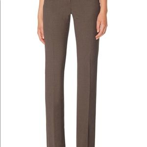 The Limited Cassidy Fit Brown Short Dress Pants